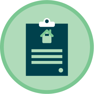 Icon of a mortgage document